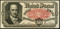 Fractional Currency:Fifth Issue, Fr. 1381 50¢ Fifth Issue Very Choice New.. ...