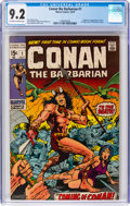 Bronze Age (1970-1979):Adventure, Conan the Barbarian #1 (Marvel, 1970) CGC NM- 9.2 Off-white towhite pages....