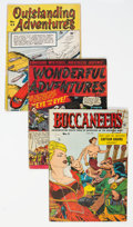 Golden Age (1938-1955):Miscellaneous, Golden Age Canadian and UK Miscellaneous Comics Group of 5 (Various Publishers, 1940s-50s).... (Total: 5 Comic Books)