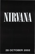 Music Memorabilia:Posters, Nirvana XL Size Poster Made for the Self-Titled Compilation Album (2002). . ...