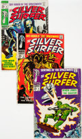 Silver Age (1956-1969):Superhero, The Silver Surfer Group of 5 (Marvel, 1968) Condition: Average VG/FN.... (Total: 5 )