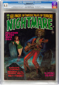 Magazines:Horror, Nightmare #4 (Skywald, 1971) CGC VF+ 8.5 Cream to off-white pages....
