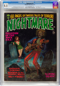 Nightmare #4 (Skywald, 1971) CGC VF+ 8.5 Cream to off-white pages