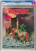 Magazines:Horror, Nightmare #19 (Skywald, 1974) CGC NM 9.4 White pages....