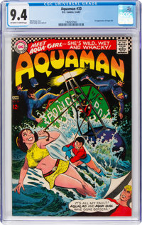 Aquaman #33 (DC, 1967) CGC NM 9.4 Off-white to white pages