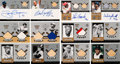 Baseball Cards:Lots, 2000 Upper Deck A Piece of History 3,000 Hit Club Autograph & Relic Collection (52) - Includes Four Extremely Rare Autographs!...