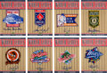 Baseball Cards:Sets, 2002 Upper Deck World Series Heroes Patch Collection Signatures Set (16)....
