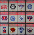 Baseball Cards:Sets, 2002 Upper Deck World Series Heroes Patch Collection Complete Set (98)....
