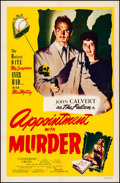 """Movie Posters:Crime, Appointment with Murder (Film Classics, Inc., 1948). Fine/Very Fineon Linen. One Sheet (27"""" X 41""""). Crime.. ..."""