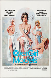 """Cover Girl Models & Other Lot (Filmgroup, Inc., 1975). Folded, Very Fine-. One Sheets (2) (27"""" X 41"""")..."""