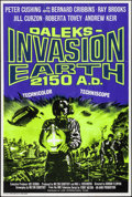 "Movie Posters:Science Fiction, Daleks' Invasion Earth 2150 A.D. (Lion International, 1966). Folded, Very Fine. British One Sheet (27"" X 40""). Science Ficti..."