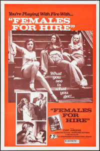 """Females for Hire (Independent International Pictures, 1969). Folded, Very Fine. One Sheet (27"""" X 41""""). Adult..."""