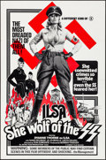 "Movie Posters:Exploitation, Ilsa, She Wolf of the SS (Cambist Films, 1975). Folded, Very Fine. One Sheet (27"" X 41""). Exploitation.. ..."