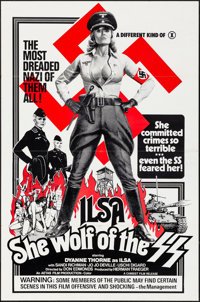 "Ilsa, She Wolf of the SS (Cambist Films, 1975). Folded, Very Fine. One Sheet (27"" X 41""). Exploitation"