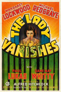 """Movie Posters:Hitchcock, The Lady Vanishes (Gaumont-20th Century Fox, 1938). Fine on Linen.One Sheet (27"""" X 41"""").. ..."""