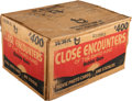 Non-Sport Cards:Unopened Packs/Display Boxes, 1978 Topps Close Encounters of the Third Kind 16-Box Wax Case - 576 Unopened Packs!...