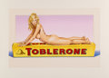 Prints & Multiples:Print, Mel Ramos (1935-2018). Toblerone Tess, 2007. Lithograph in colors on wove paper. 30-1/4 x 44-1/2 inches (76.8 x 113 cm) ...