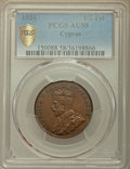 Cyprus:British Colony, Cyprus: British Colony. George V 1/2 Piastre 1931 AU58 PCGS,...