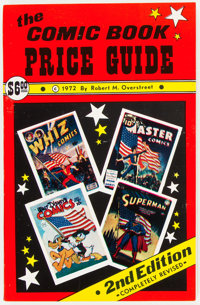 Overstreet Comic Book Price Guide #2 Softcover (Robert M. Overstreet, 1972) Condition: NM-