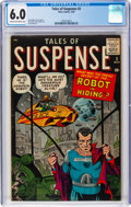 Silver Age (1956-1969):Science Fiction, Tales of Suspense #2 (Marvel, 1959) CGC FN 6.0 Cream to off-white pages....