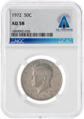 Explorers, Coins: 1972 50¢ AU58 NGC Kennedy Half Dollar Directly From The Armstrong Family Collection™, CAG Certified. ...