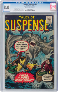Tales of Suspense #6 (Marvel, 1959) CGC VF 8.0 Cream to off-white pages