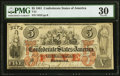 Confederate Notes:1861 Issues, T31 $5 1861 PF-1 Cr. 244 PMG Very Fine 30.. ...