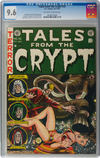 Tales From the Crypt #32 (EC, 1952) CGC NM+ 9.6 Off-white to white pages