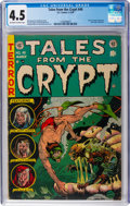 Golden Age (1938-1955):Horror, Tales From the Crypt #40 (EC, 1954) CGC VG+ 4.5 Off-white to whitepages....