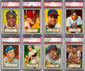 Baseball Cards:Lots, 1952 Topps Baseball PSA EX-MT+ 6.5 Collection (18). ...