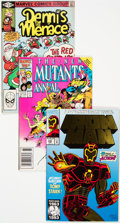 Modern Age (1980-Present):Miscellaneous, Marvel Modern Age Long Box (Marvel, 1980s-90s) Condition: Average FN/VF....