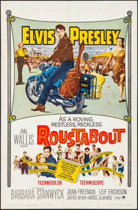 "Roustabout (Paramount, 1964). Folded, Fine/Very Fine. One Sheet (27"" X 41""). Elvis Presley"