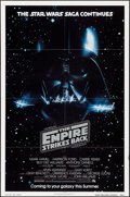 "Movie Posters:Science Fiction, The Empire Strikes Back (20th Century Fox, 1980). Folded, Very Fine+. One Sheet (27"" X 41"") Advance. Science Fiction.. ..."