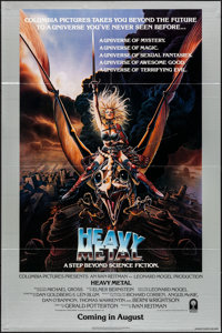 "Heavy Metal (Columbia, 1981). Folded, Very Fine+. One Sheet (27"" X 40.75""). Advance, Chris Achilleos Artwork..."