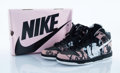 Collectible:Contemporary, Nike X U.N.K.L.E.. Dunk High Pro SB. Pink, white, and black sneakers. Size 10.5. ...