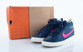 Collectible:Contemporary, Nike . Blazer Sneaker. Navy, white and hot pink sneakers. Size 11. ...