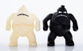 Collectible:Contemporary, Jakuan Melendez X 360 Toy Group. Gotham Toy, set of two, c. 2000. Cast vinyl. 6 x 5 x 3 inches (15.2 x 12.7 x 7.6 cm) (e... (Total: 2 Items)