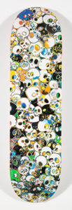 Collectible:Contemporary, Takashi Murakami X Vans. Untitled, from Vault by Vans, 2015. Screenprint in colors on skate deck. 32 x 8 inches (81.... (Total: 3 Items)