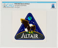 Explorers, NASA Altair Lunar Surface Access Module Decal Directly From The Armstrong Family Collection™, CAG Certified. ...