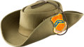 Explorers, Neil Armstrong's Personal Boonie Hat Signed from Bob Hope USO Tour Directly From The Armstrong Family Collection™, CAG Certifi...