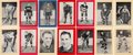 Hockey Cards:Sets, 1934-43 Bee Hive Hockey Photos Group 1 Near Set (247 Different) With Unlisted Plus Advertisements....