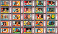 Baseball Cards:Sets, 1960 Topps Complete PSA Graded Set (572) - All Cards Have Been Graded PSA NM-MT 8 and Higher....