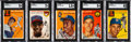 Baseball Cards:Sets, 1954 Topps Baseball Complete Set (250)....