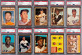 Baseball Cards:Sets, 1962 Topps Baseball Complete Set (598) Plus Green Tint (74), Reniff, Tasby and Buhl Variations. ...