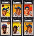 Baseball Cards:Lots, 1954 Topps Baseball Shoebox Collection (526), Plus Two Extras....