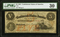 Confederate Notes:1861 Issues, T32 $5 1861 PF-1 Cr. 246 PMG Very Fine 30.. ...