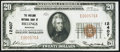 National Bank Notes:Montana, Billings, MT - $20 1929 Ty. 1 The Midland NB Ch. # 12407 Very Fine+.. ...