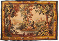 An Aubusson-Style Wool Tapestry, mid-20th century 70-1/2 x 49-1/4 inches (179.1 x 125.1 cm)