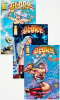 Modern Age (1980-Present):Superhero, Glory #13-15 Long Box Group (Image, 1996) Condition: AverageNM-....