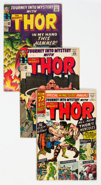 Journey into Mystery/Thor Group of 18 (Marvel, 1965-92) Condition: Average VG+.... (Total: 18 )